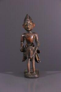 STATUE-YORUBA-AFRICAN-ART-AFRICAIN-PRIMITIF-ARTE-AFRICANA-AFRIKANISCHE-KUNST