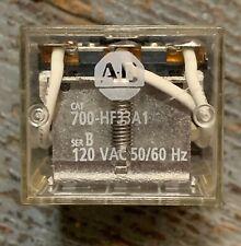 Allen Bradley 700 Hf33a1 Series B Base Relay 11 Pin 120vac 5060hz