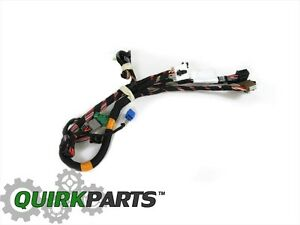 06-10 GRAND CHEROKEE COMMANDER L/H SIDE FRONT DOOR SWITCHES WIRING on jeep engine wiring harness, jeep transmission wiring harness, jeep starter wiring harness,