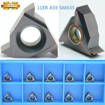 10* 11IR 2.0ISO SMX30 Carbide Insert For Threading Turning Tool Boring BAR CNC