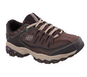 memory in uomo Shoe foam Scarpa 4e 50125 Brown Skechers Eww Brtp Larghezza da 7yvzP