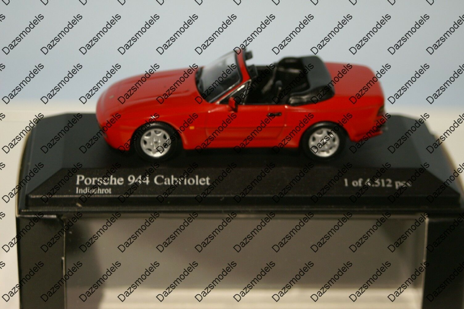 Minichamps Porsche 944 Cabriolet 1991 Red 1 43 400 062230