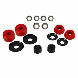 Skateboard-Truck-Rebuild-Kit-96A-Bushings-Washers-Pivot-Cups-Nuts-For-2-Trucks
