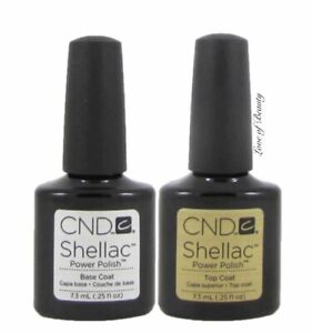 Creative-Nail-Design-CND-UV-Polish-Gel-Coat-SET-DUO-2-pcs-BASE-TOP-SHELLAC