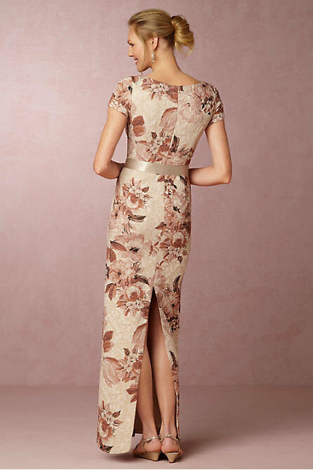 NEW ANTHROPOLOGIE BHLDN  220 220 220 MEDINA FLORAL MAXI DRESS GOWN BY ADRIANNA PAPELL 2 5ce805