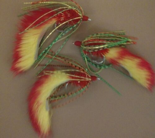 Fire and ICE Size 1//0 Great Selection Colors! Bass Crawlers Sold per 3