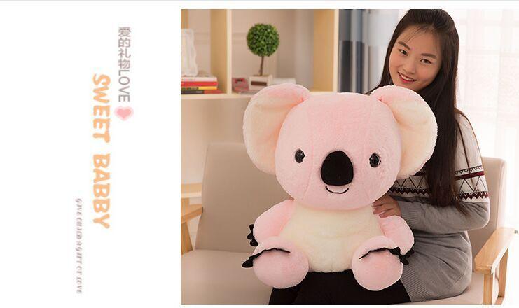 Plush Pink Koala Plush Soft Toys Doll  High Quality Stuffed Doll Gift 50cm Big A