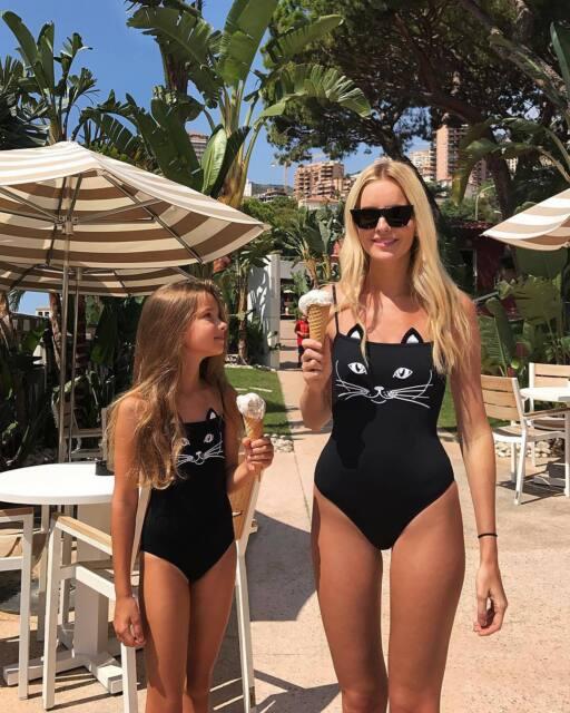 Family Matching Women Baby Girls Bikini Bathing Suit Swimwear Swimsuit Clothes