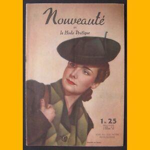 NOUVEAUTE-amp-LA-MODE-PRATIQUE-N-50-Francoise-Rozay-1939