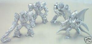 Gioco-Game-Play-4-Gormiti-Platinum-Silver-Argento-Cartone-Animato-NEW
