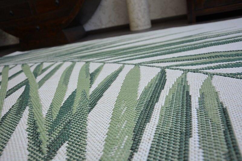 Facile à Nettoyer Vertes Sisal Tapis Feuilles Vertes Nettoyer 'Couleur' Pratique Résistant Et 00d308