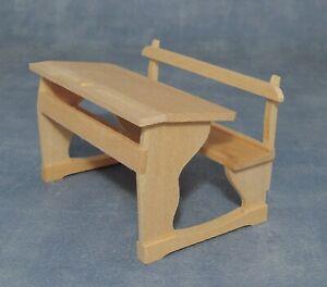 1-12-Massstab-Natuerliche-Ausfuehrung-Holz-Schule-Desk-Tumdee-Puppenhaus-Zubehoer
