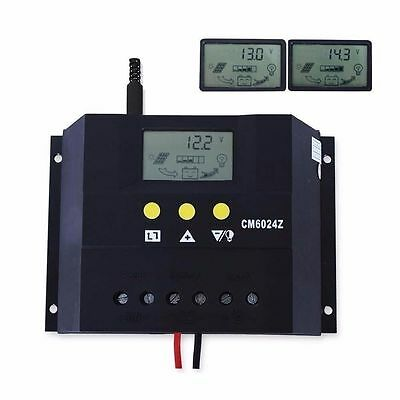 Heimwerker 60a Solar Laderegler 12v 24v Solarpanel Controller Regulator Solarregler &dhl Pn Vivid And Great In Style