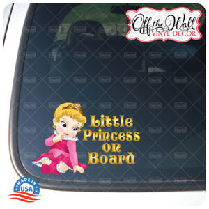Baby-Aurora-034-BABY-OR-LITTLE-PRINCESS-ON-BOARD-034-Awareness-Sign