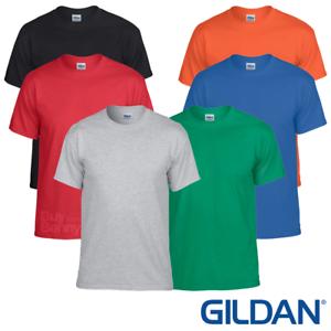 Gildan MEN/'S T-SHIRT GYM SHIRT WICKING SPORTS FITNESS RUNNING PLAIN SUMMER TEE