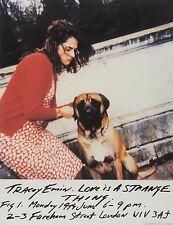 Firmato Tracey EMIN Limited Edition Stampa L'amore è una cosa strana