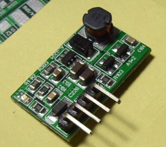 2* 5W With ON/OFF EN Switch DC3-6V To 12V Step-up Boost Converter Power Module