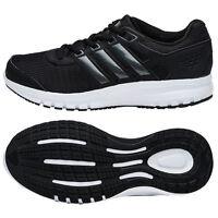 Adidas 2017 Men's Duramo Lite Running Shoes Black/white Bb0806