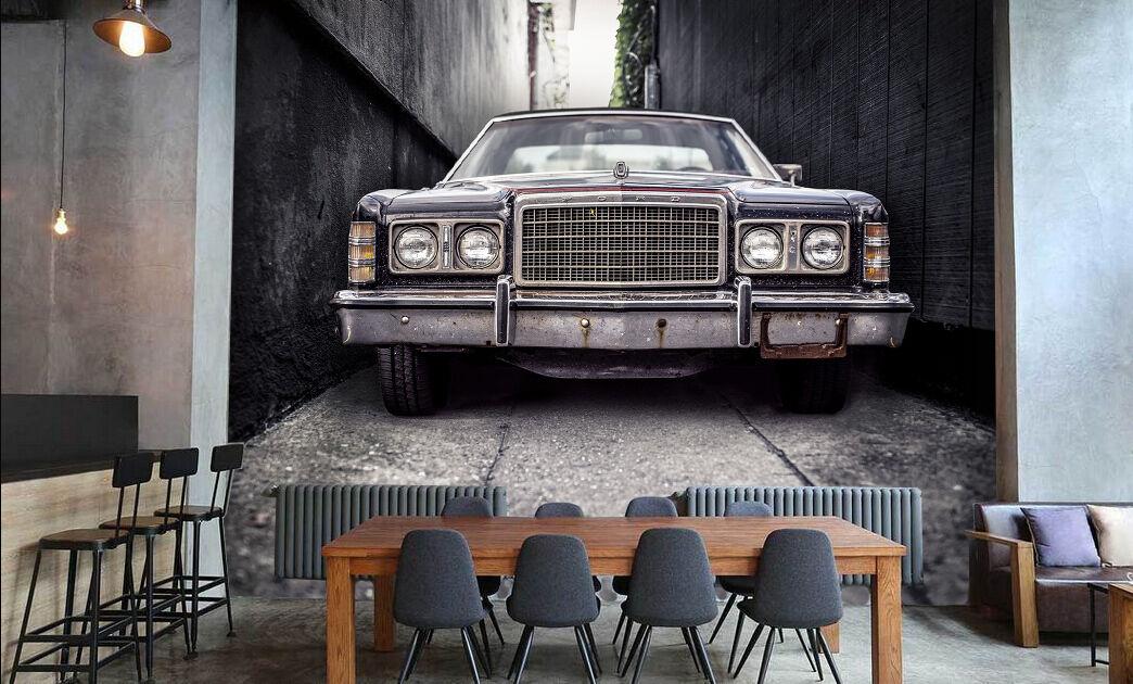 3D Lusso Auto 53 Parete Murale Foto Carta da parati immagine sfondo muro stampa