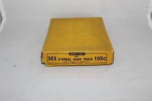 Dinky-comercio-Caja-No-383-105c-4-rueda-camion-de-mano