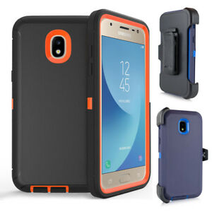 quality design e954a 6e84b Details about for Samsung Galaxy S10 J3 2018 Case Armor Cover (Belt Clip  fit Otterbox Defender
