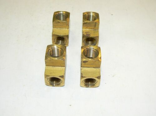 "Get 1 FREE Brass Bar Stock Tee Fitting 1//4/"" NPT 1 pc SPECIAL: Buy 4 pcs"