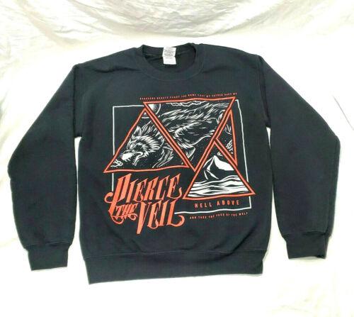 Pierce the Veil Crewneck S Sweatshirt Hell Above W