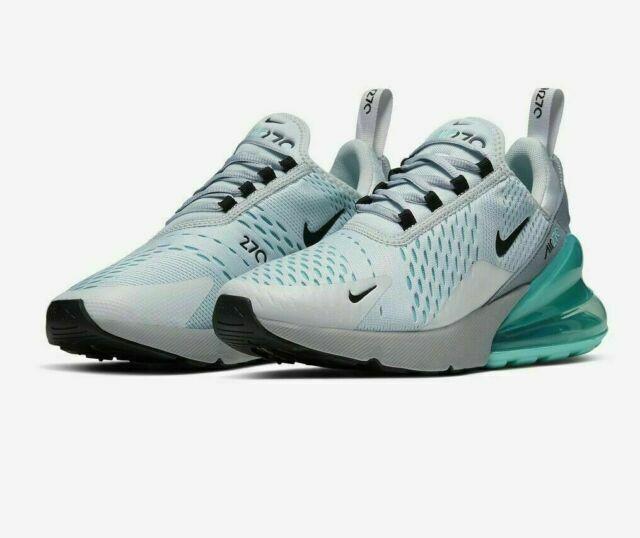 Size 7.5 - Nike Air Max 270 Platinum Aurora Green