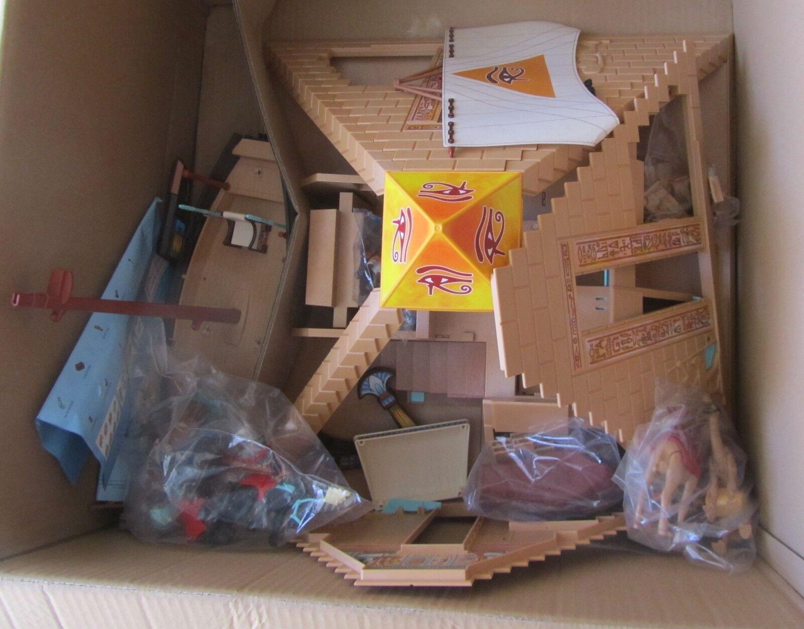 Playmobil Esposizione Display Promozionale Da Negozio Egizi 4240 4241 4244 4247