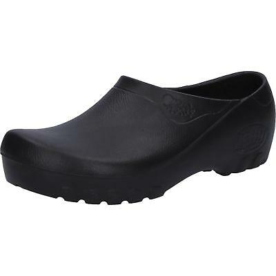 100% Wahr Alsa Fashion Jolly Schuhe Hausschuhe Gartenschuhe Schlappen Schwarz Gr.46