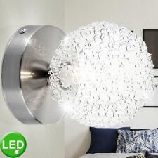 LED Wand Lampe Spot Geflecht Strahler beweglich Arbeits Zimmer Chrom Leuchte