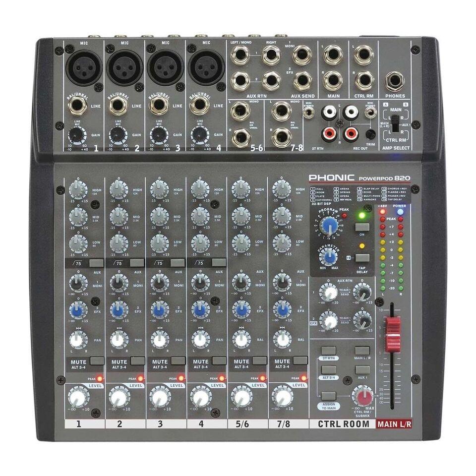 Power Mixser, Phonic Powerpod 820