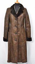 T48 Lammfell Mantel Pelzmantel Lamm Pelz lambskin sheepskin fur coat Size M