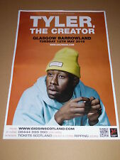 TYLER THE CREATOR - rare tour concert / gig poster - 2015 - golf wang