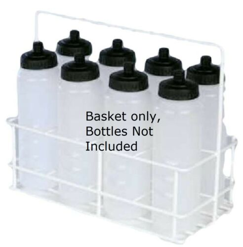Sports Water Bottle Holder Football Team Drinks 8 Bottles Carrier Basket ONLY