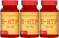 5-htp (5-hydroxytryptophan) 100 Mg Dietary Supplement 300 Quick Release Capsules