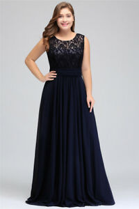Evening-Long-Prom-Dress-Formal-Party-Gown-A-line-Bridesmaid-Dresses-Plus-Size