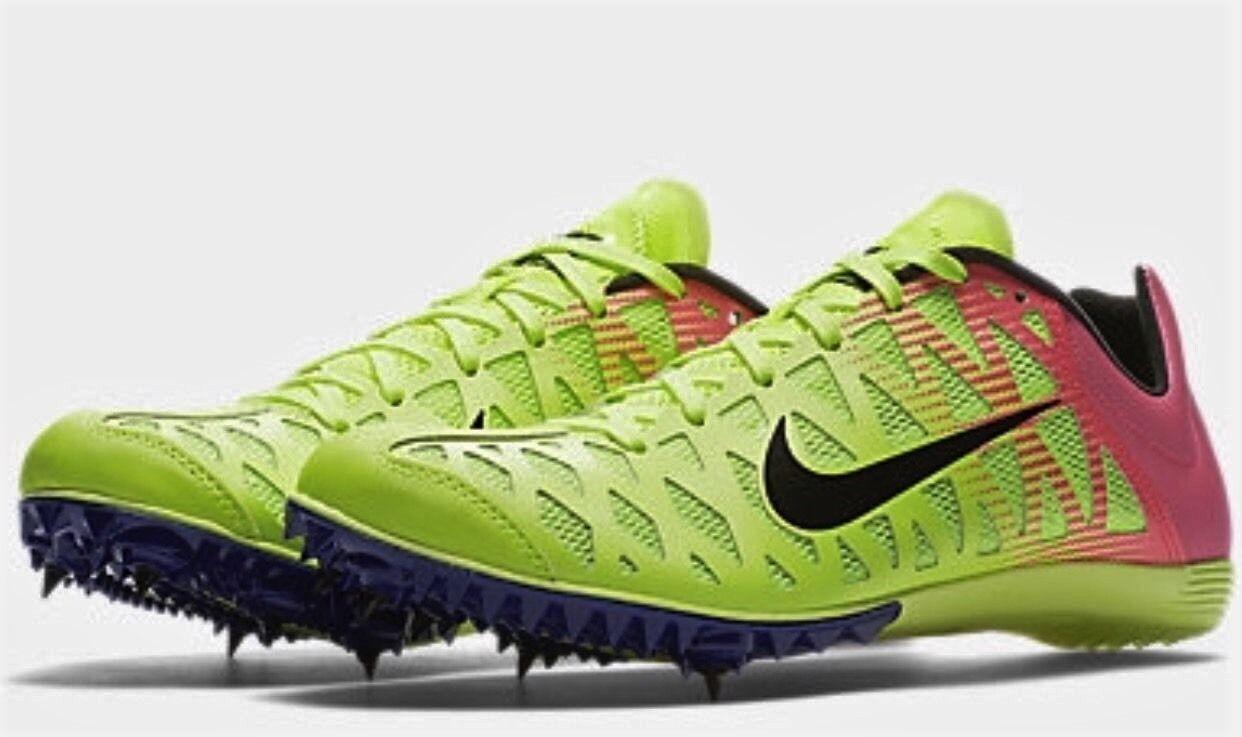New Hombre Spikes Nike Zoom maxcat 4 Spikes Hombre zapatillas Volt rosa negro 882018-999 barato y hermoso moda 68f311