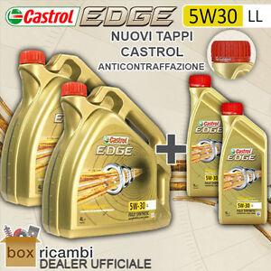 10-L-LITRI-OLIO-MOTORE-CASTROL-EDGE-FST-5W30-LL-VW-MB-ORIGINALE-CASTROL-ITALIA