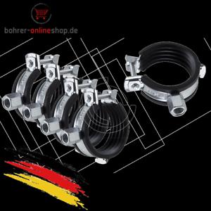 5x-isolierte-Rohrschellen-Rohrhalterungen-Heizung-26-28mm-mit-M8-M10-Gewinde
