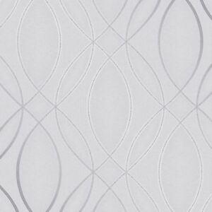 Impulsion-Ogee-Vague-Papier-Peint-Argent-Gris-fine-decor-FD42337