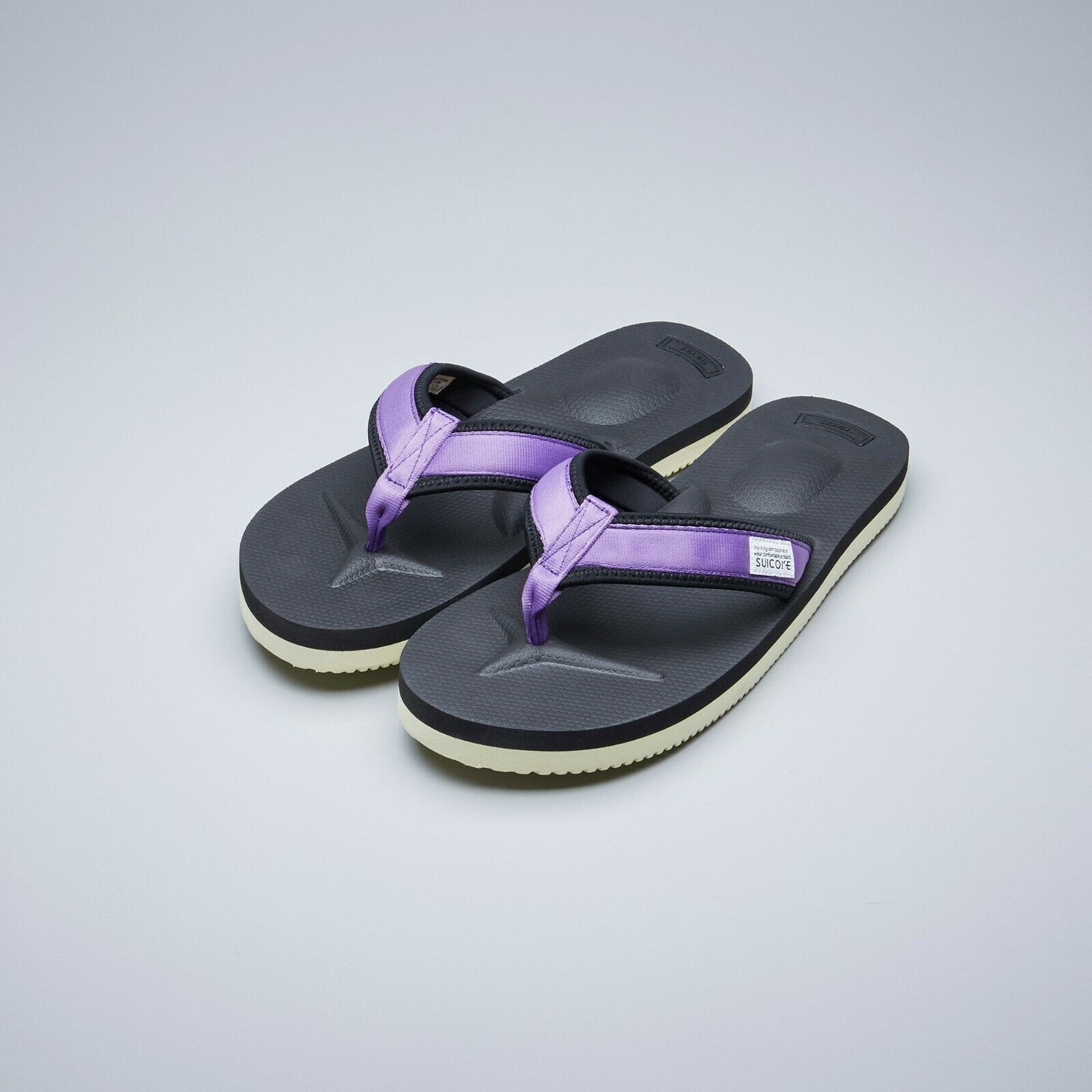 Suicoke OG -021V2   TONO -V2 lila Nylon Vibram Sole Slippers Sandaler
