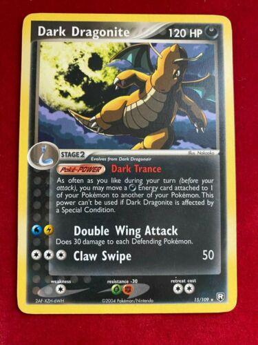 Dark Dragonite 15/109 Rare EX Team Rocket Returns Pokemon Card