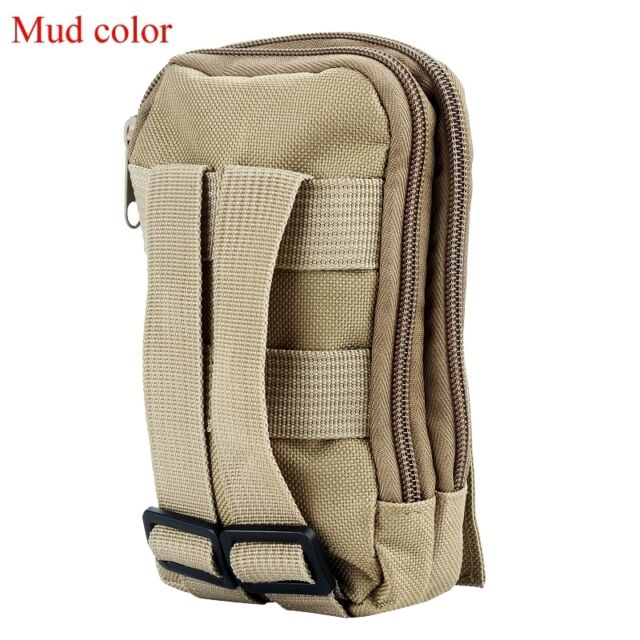 Tactical Molle Accessory Sundries Bag Utility Travel Hiking Zipper Pouch  Fine