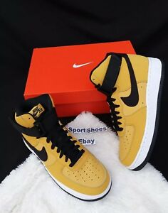 para High 1 Air Negro Correa Amarillo '07 cuero de 700 Force Nike 5 Lthr At4963 7 hombre 4Pwqx80H