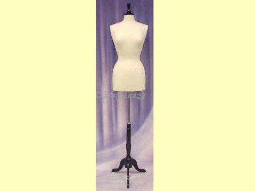 Female Size 6-8 Form Mannequin Dress Form #F6/8W+ BS-02BKX