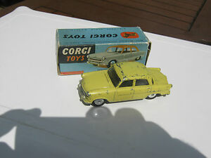 Corgi 207m Stangaurd Vangaurd Mechanical De 1957-59 Original voiture & boîte.