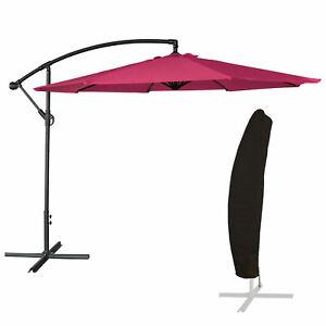 Parasol-deporte-OAHU-rond-3-50m-de-diametre-fuchsia-housse