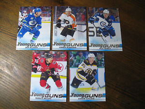 LOT-2019-20-UD-SERIE-1-YOUNG-GUNS-5-card-RC-MINT