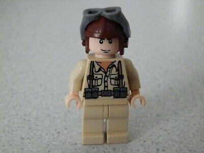 7195 Marion Ravenwood Figur rot weiß Neu Lego Indiana Jones Cairo Outfit